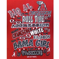 Girlie Girl Originals - Alabama T-Shirts Bama Obsession