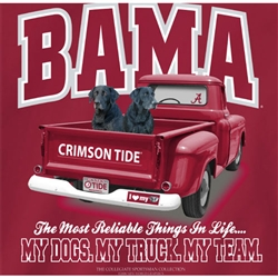 Alabama Crimson Tide T-Shirts - Truck & Dogs