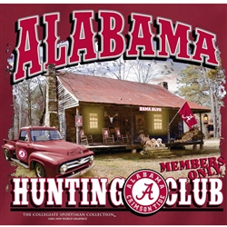 Alabama Crimson Tide Football T-Shirts - Hunting Club Sportsman Paradise