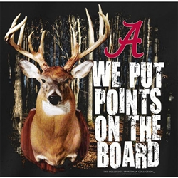 Alabama Crimson Tide Football T-Shirts - We Put Points On The Board