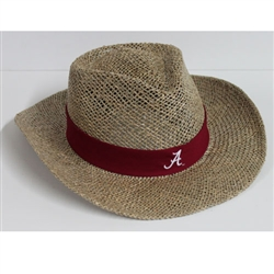Nick Saban Straw Hat - Alabama Crimson Tide