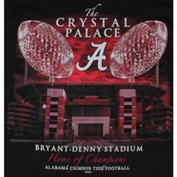 Alabama Crimson Tide Football T-Shirts - The Crystal Palace