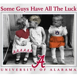 Alabama Crimson Tide Football T-Shirts - Some Guys Have All The Luck